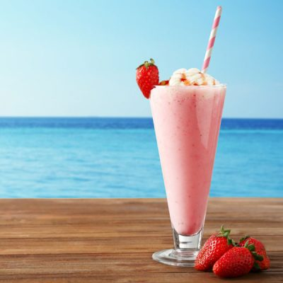 Cool Strawberry Shake Vape Juice Recipe