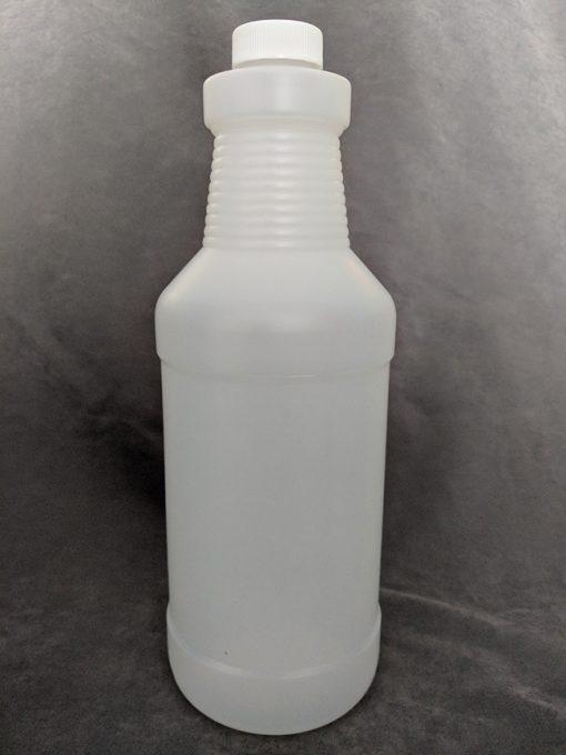 1 Litre HDPE Bottle with Cap Vape E-Juice