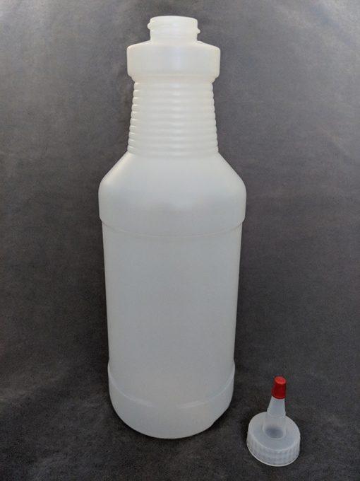 1 Litre HDPE Bottle with Yorker Vape E-Juice