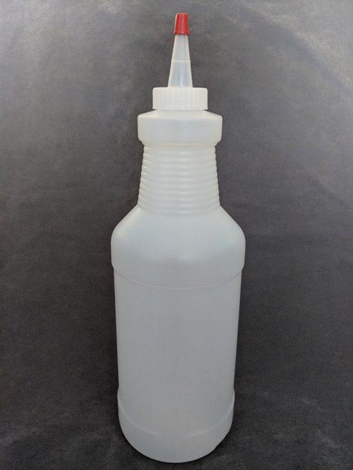 1 Litre HDPE Bottle with Yorker Cap Vape E-Juice