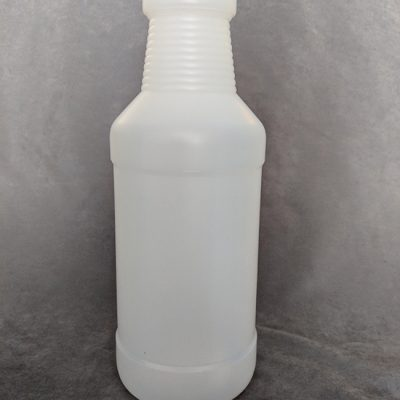 Natural HDPE Cylinder bottle - 1 Litre