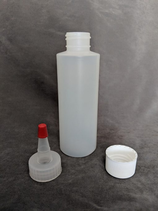 120ml HDPE Bottle with cap and Yorker Vape E-Juice