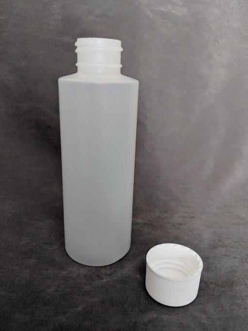 Natural HDPE Cylinder bottle - 120ml
