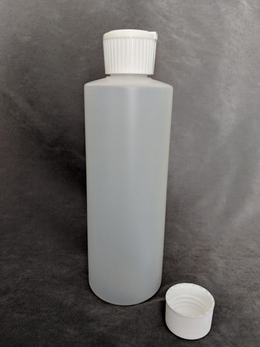 250ml HDPE Bottle with Lid Vape E-Juice