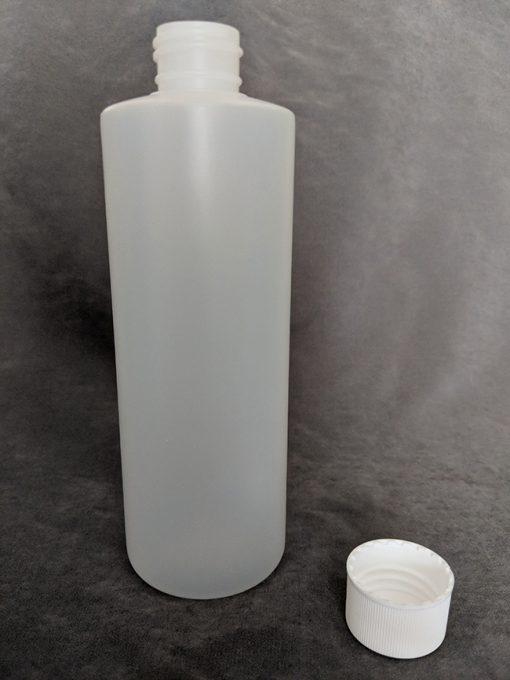 Natural HDPE Cylinder bottle - 250ml