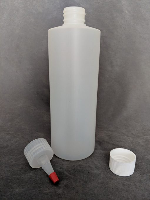 500ml HDPE Bottle with Cap and Yorker Vape E-Juice