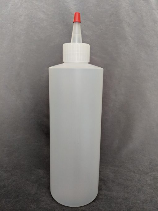 500ml HDPE Bottle with Yorker Cap Vape E-Juice