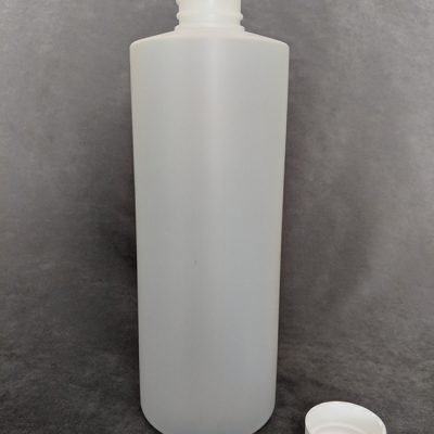 Natural HDPE Cylinder bottle - 500ml