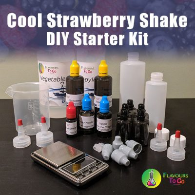 Cool strawberry shake diy starter kit