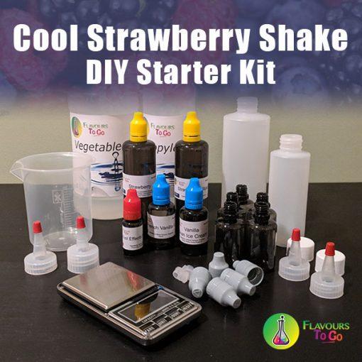 Cool strawberry shake diy starter kit