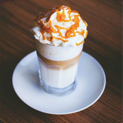 Caramel Coffee with Sweet Milk Food Flavour